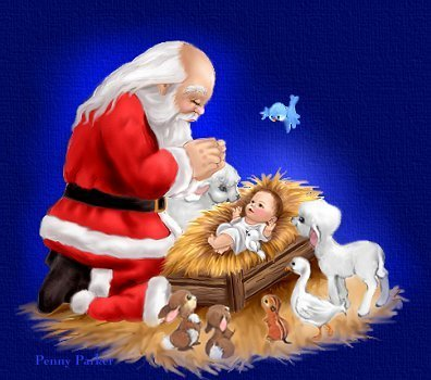 Santa-with-baby-jesus-santa-claus-17926552-396-350