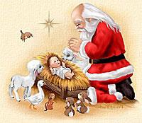 mobtown shank what baltimore freecycles santa meets baby jesus edition - Santa And Jesus